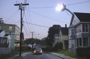 """Gregory Crewdson, Production Still, Untitled, (Worthington Street #1), courtesy Gagosian Gallery, Archival Pigment Print, 17"""" x 22"""", Edition of 20"""