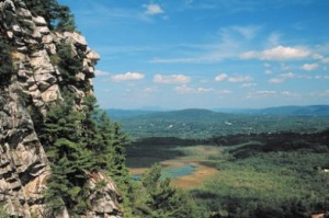 The view from Monument Mountain (photo by R Cheek)