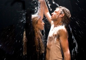 Louise Lecavalier and Patrick Lamothe in 'Children' (photo by Andre Cornellier)
