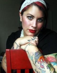 Spoken word artist Rachel McKibbens