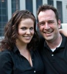 Clover Bell-Devaney and Andrew Volkoff (Photo by Enrico Spada)