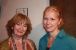 Vicki Bonnington and Hope Sullivan of IS183