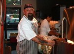 Vegetarian chef for the night Brian J. Alberg of the Red Lion Inn