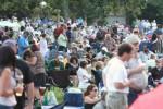 Tanglewood lawn crowd