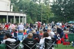 Tanglewood Shed and lawn (photo by Seth Rogovoy)