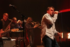 Southside Johnny and the Asbury Jukes performing earlier this summer at the Montreal Jazz Festival (photo by Seth Rogovoy)