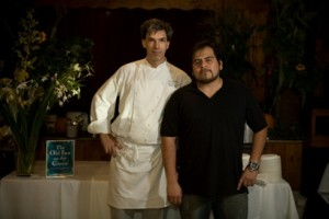 Peter Platt and Gustavo A. Perez of the Old Inn on the Green