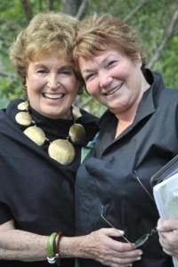 Elayne P. Bernstein and Tina Packer