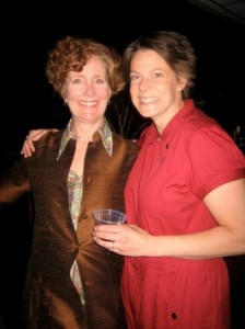 WAM Theatre cofounders Kristen van Ginhoven and Leigh Strembeck