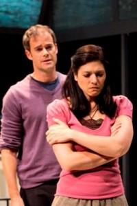James Ludwig and Tara Franklin in 'Birthday Boy' (photo by Kevin Sprague)