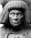 Actor-director Paul Wegener as the Golem