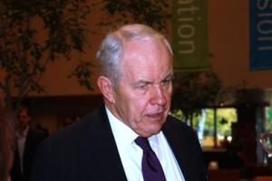 Clark board chair Peter S Willmott