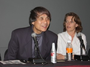 Architects Tadao Ando and Annabelle Selldorf