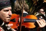 Klezmer violinist Yale Strom