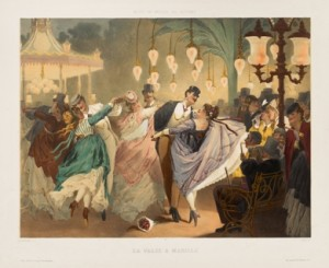 Gustave Barry and Philippe Jacques Linder, Waltz at Mabille, c. 1860-70. Sterling and Francine Clark Art Institute, 1955.2476