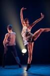 Céline Cassone and Alexander Hille of Les Ballets Jazz de Montreal; photo Benjamin Von Wong, courtesy of Jacob's Pillow Dance