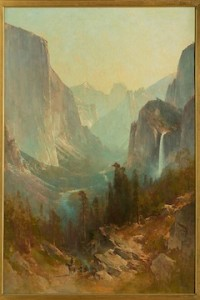 Thomas Hill, Yosemite Valley, 1889, oil on canvas. Collection of Berkshire Museum.