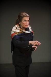 Annette Miller as Maria Callas (photo Kevin Sprague)