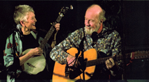 Peggy and Pete Seeger
