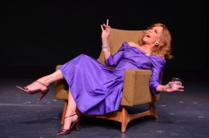 Colleen Zenk in Stageworks/Hudson's 2013 production of 'Looped' (photo Rob