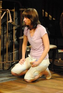 Molly Camp in 'Extremities' (photo Abby LePage)