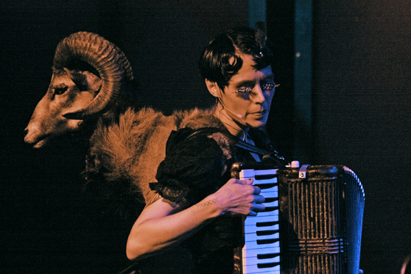 Hazel and Ryder Cooley of Dust Bowl Faeries (photo Seth Rogovoy)