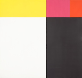 Ellsworth Kelly (American, born 1923), Tiger, 1953. Oil on canvas (five joined panels), 80 3/4 x 85 1/2 in. (205.1 x 217.2 cm). National Gallery of Art, Washington, D.C. Gift of the Artist, 1992.85.1 © Ellsworth Kelly