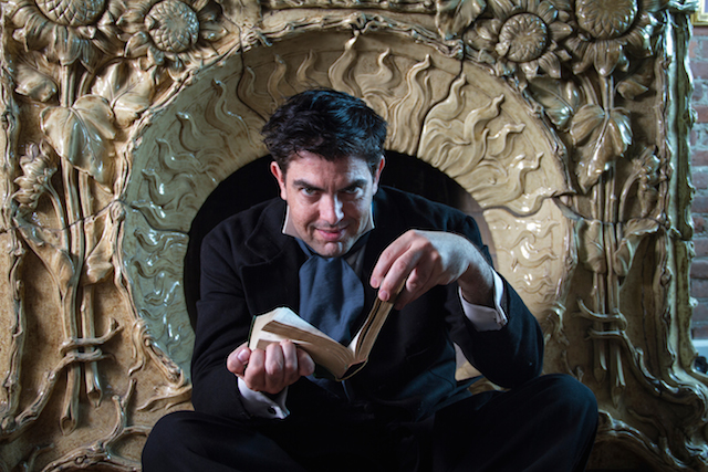 Jason O'Connell in 'Turn of the Screw' (photo courtesy HVSF)