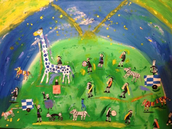 'Circus Parade,' Paul Graubard