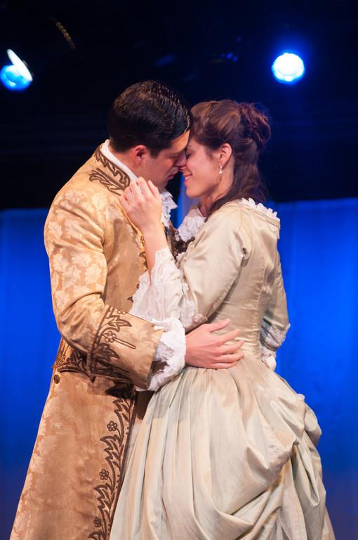 Brendan Cataldo and Suzanne Ankrum in 'Emilie' (photo Enrico Spada)