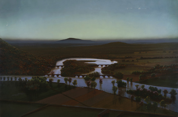'The Oxbow' by Stephen Hannock