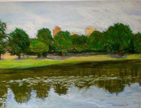 Central Park by Martha Peskin