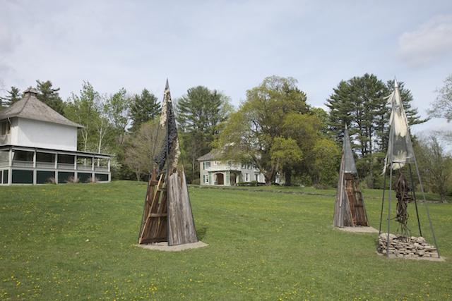 Landmark I, II and III by Nancy Winship Milliken (photo Paul Rocheleau)