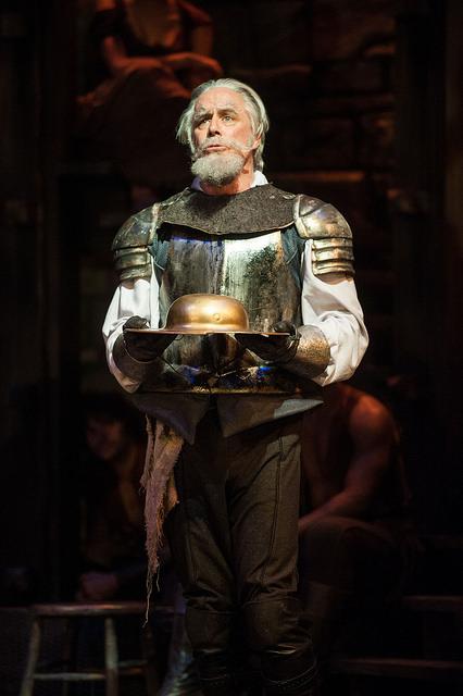 Jeff McCarthy as Don Quixote (photo Kevin Sprague)