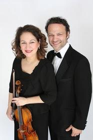 Boston Duo, Tatiana Dimitriades and  Jonathan Bass