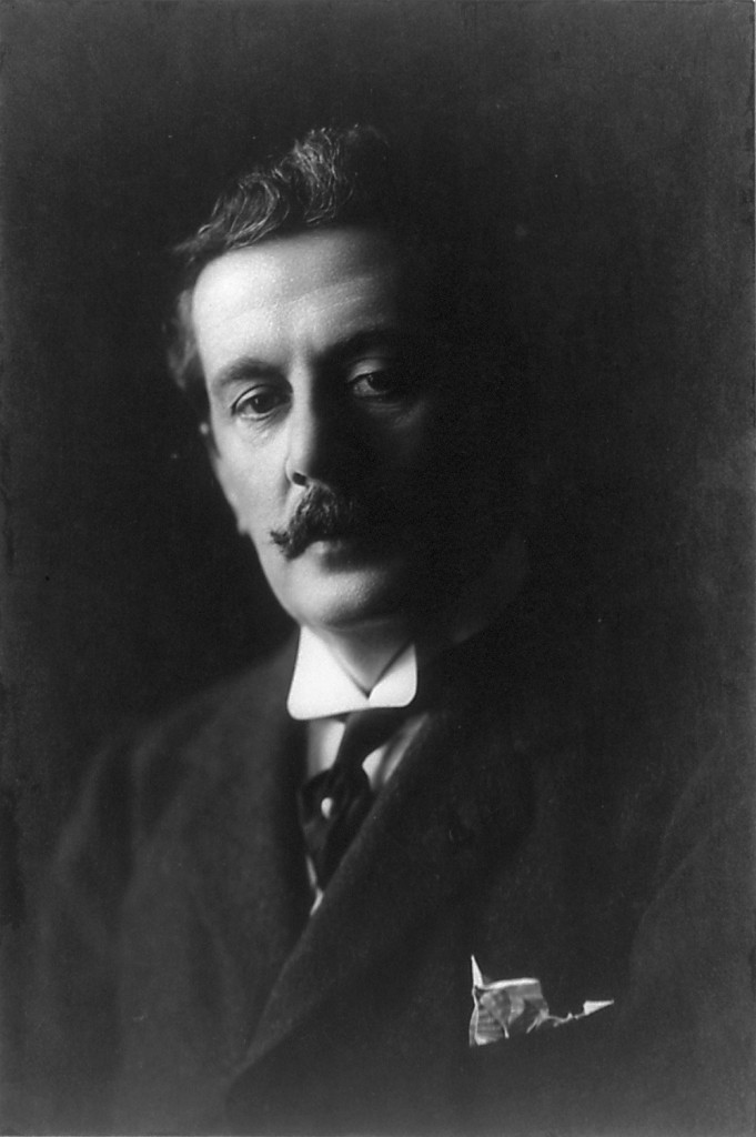 Puccini (copyrighted by Frank C. Bangs/Library of Congress)