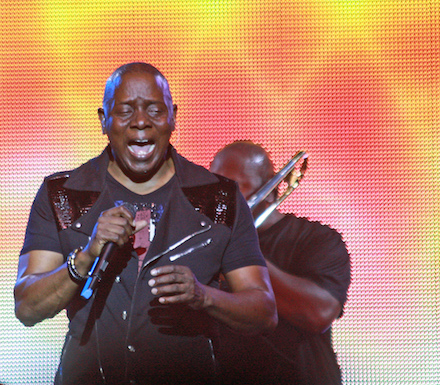 Philip Bailey of Earth Wind & Fire