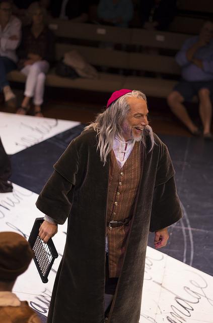 Jonathan Epstein as Shylock (photo Ava G. Lindenmaier)